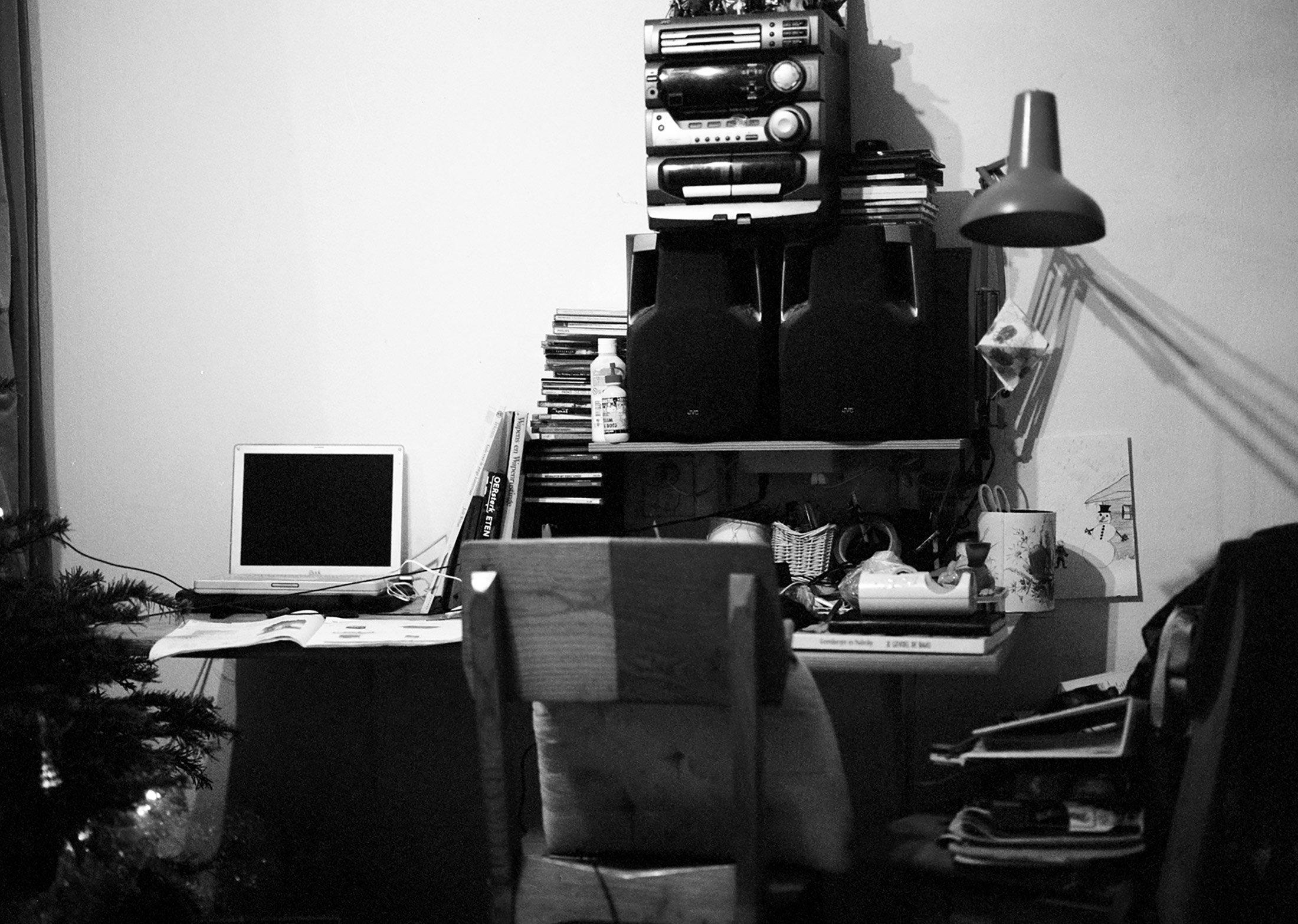 De Klopvaart woonkamer / Living room at 'de Klopvaart'