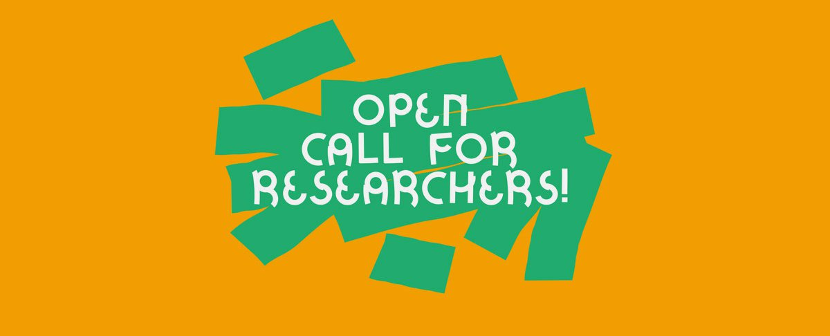 Open Call for researchers!